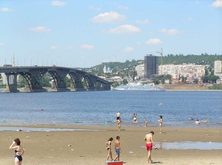 Начать обустройство нового городского пляжа в Саратове планируется в конце лета