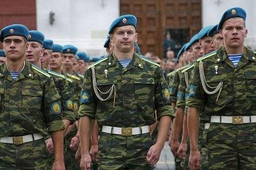 Численность ВДВ России решили увеличить в два раза