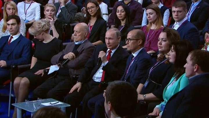 Путин: Россия сохранит свои санкции, пока Запад не отменит свои