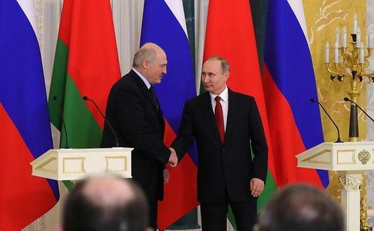В Петербурге состоялась встреча Владимира Путина сАлександром Лукашенко