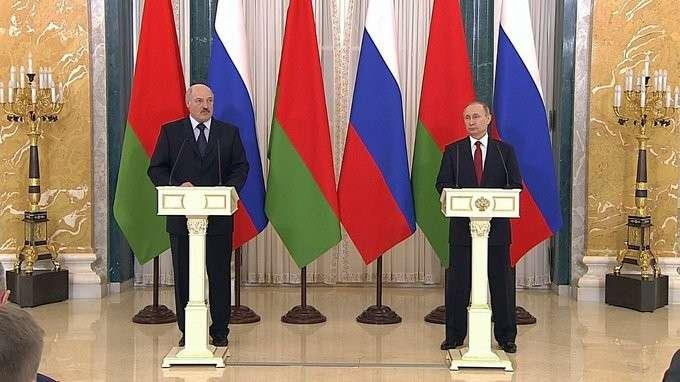 Заявления для прессы поитогам российско-белорусских переговоров