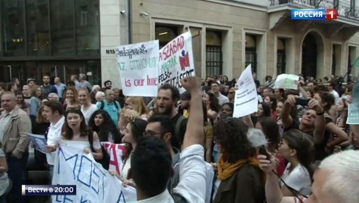 В Венгрии скандал: университет еврейского фашиста Сороса под угрозой закрытия