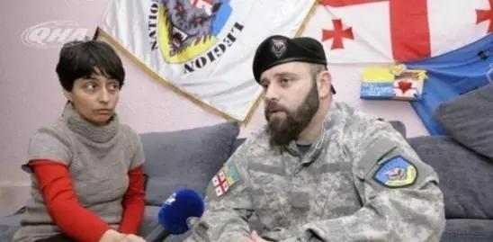 Грузинский каратель киевской хунты открыто угрожает расправой. Или операция «Буря в шароварах»
