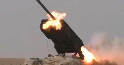 Сирия, Пальмира: русский «Солнцепек» сжег противников в горах