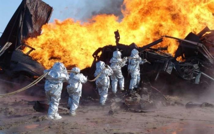 Взрыв на нефтяной скважине в ЯНАО попал на камеру