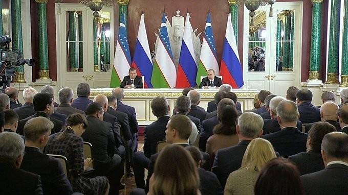 Владимир Путин и Шавкат Мирзиёев сделали заявления по итогам российско-узбекистанских переговоров
