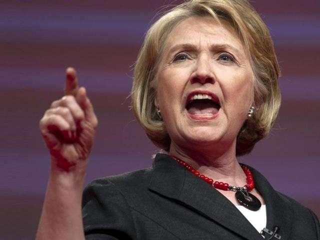 Хилари Клинтон призвала США уничтожить ВВС Сирии