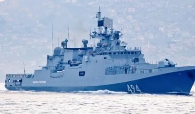 ВМС России срочно возвращает боевые корабли к берегам Сирии