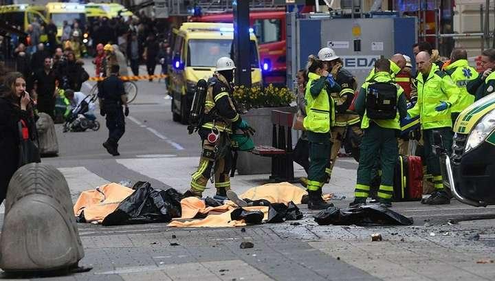 В Стокгольме террорист действовал по отработанной ранее схеме