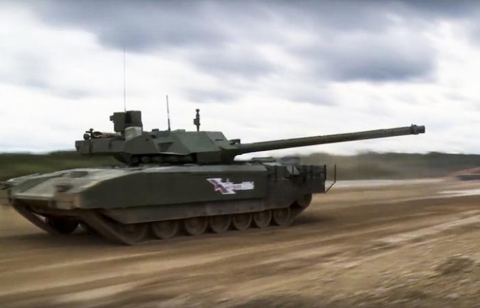 Залпы по «Армате»: за что западные СМИ «полюбили» новейший российский танк Т-14