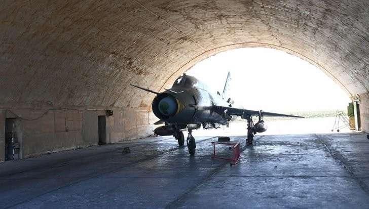 Сирийские ВВС возобновили вылеты с аэродрома «Шайрат»