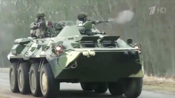 Россия и Белоруссия провели совместные учения десантников