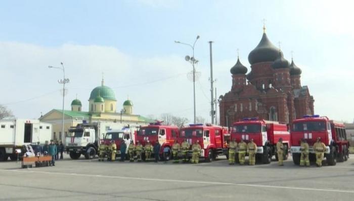 В Туле пожарные и спасатели МЧС получили новую технику
