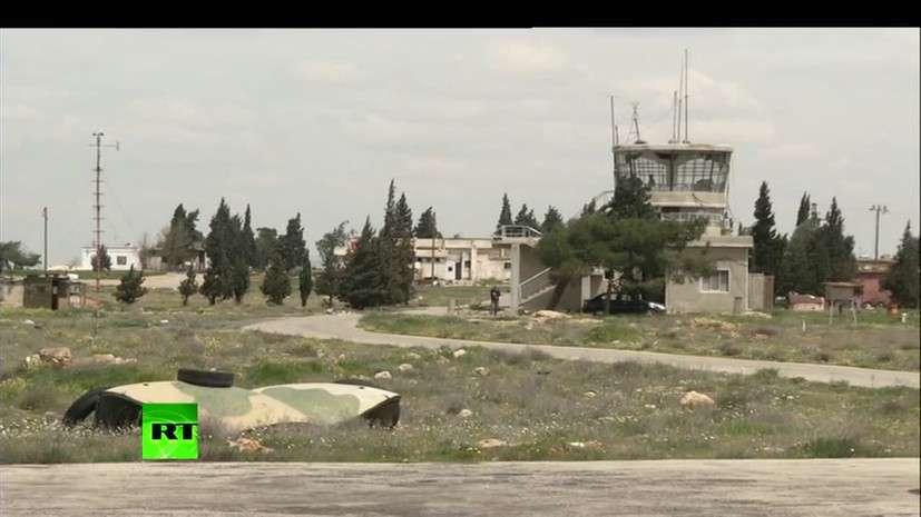 Атакованный ракетами США сирийский аэродром заработал в штатном режиме