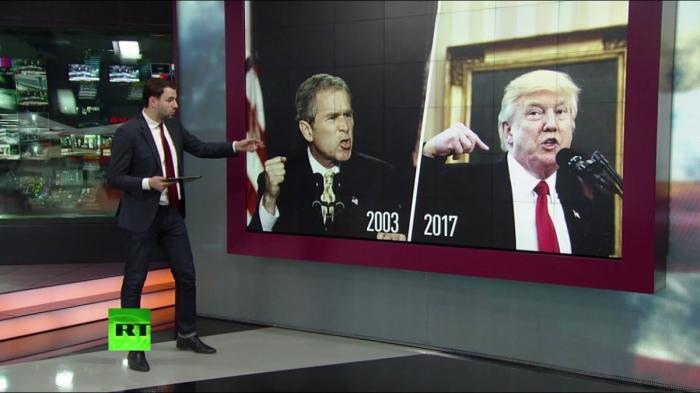 Агрессия США против Сирии: отличия подходов Джорджа Буша и Дональда Трампа