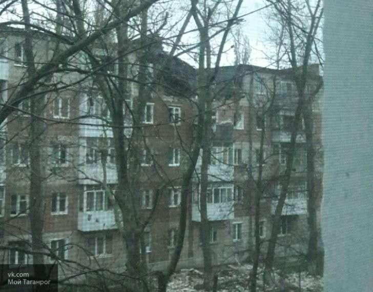 Таганрог: последствия взрыва газа в жилом доме