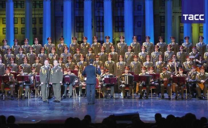 Турция: Ансамбль имени Александрова дал концерт в Стамбуле