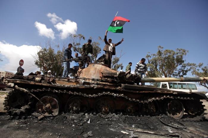 Результат «бескорыстной» помощи Запада для устранения диктаторов