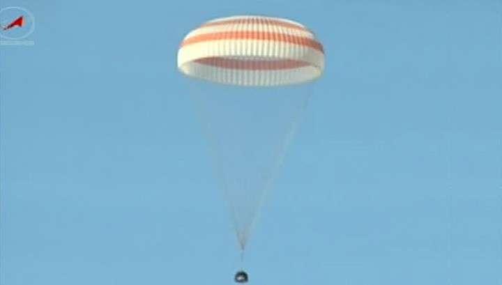 Экипаж МКС успешно вернулся на Землю, спустя пол года пребывания в космосе