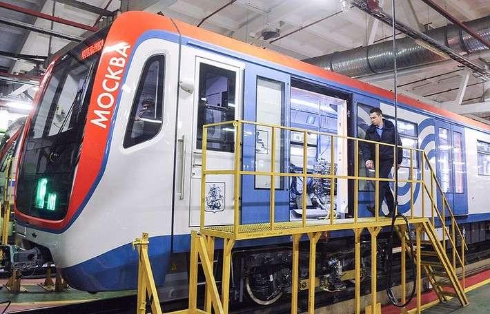 Поезд нового поколения «Москва» успешно завершил приемочные испытания вметро