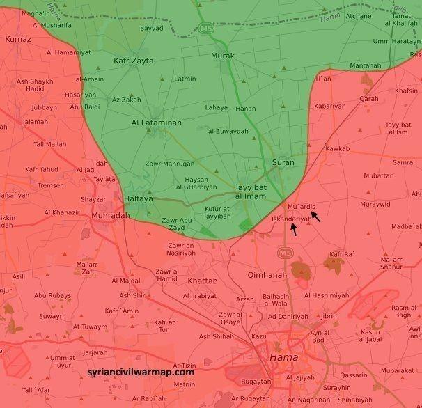 Хама: крупнейшее сражение сирийской армии в 2017 году