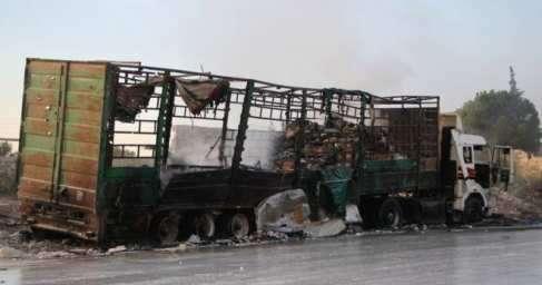 Глобалисты готовят нападение на конвои ООН, чтобы США напали на Сирию, – разведка