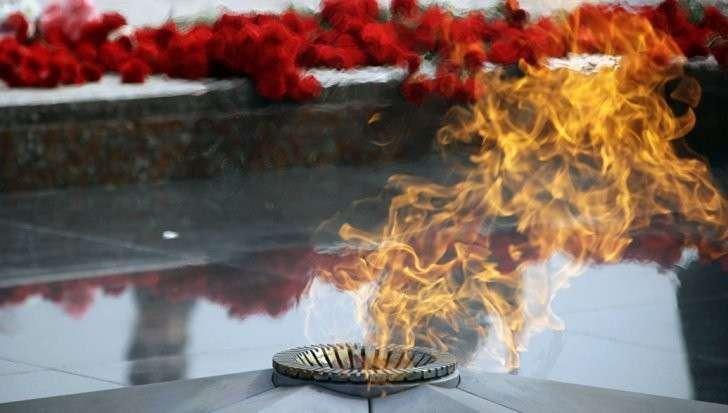 Вандал пытался осквернить Вечный огонь на Поклонной горе