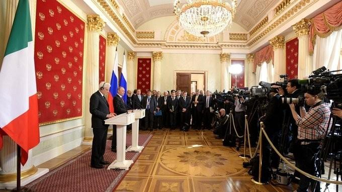 Заявления для прессы поитогам встречи Владимира Путина сПрезидентом Италии Серджо Маттареллой