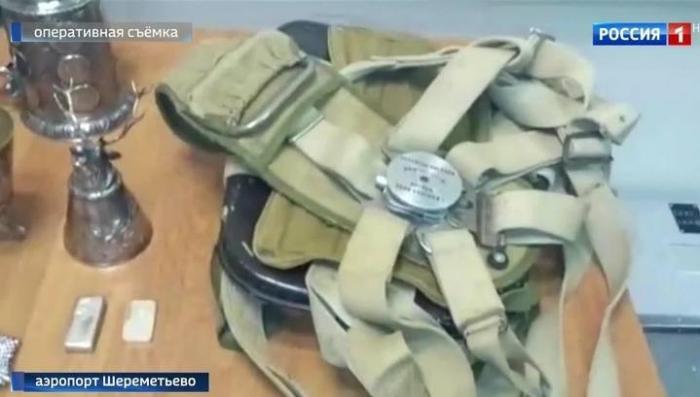 В Шереметьеве задержан багаж с крупной партией антиквариата