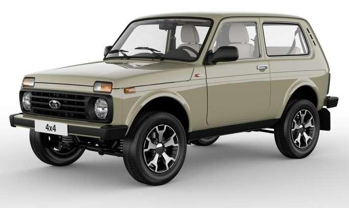 На АВТОВАЗе началось производство новой версии LADA 4×4 в юбилейной комплектации