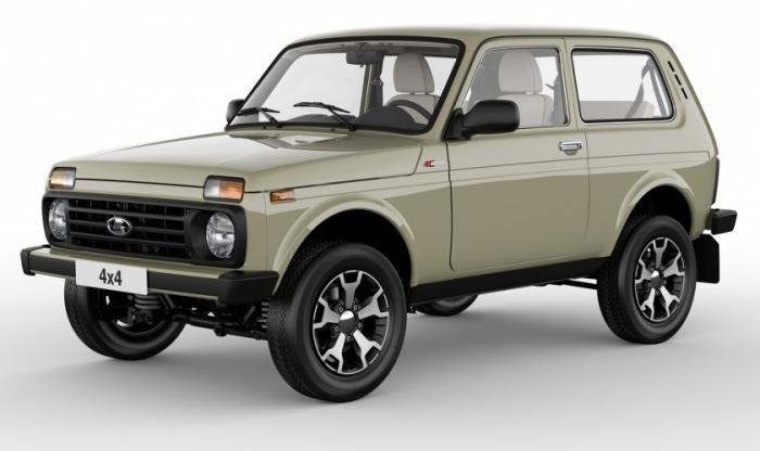 На АВТОВАЗе началось производство новой версии LADA 4x4 в юбилейной комплектации