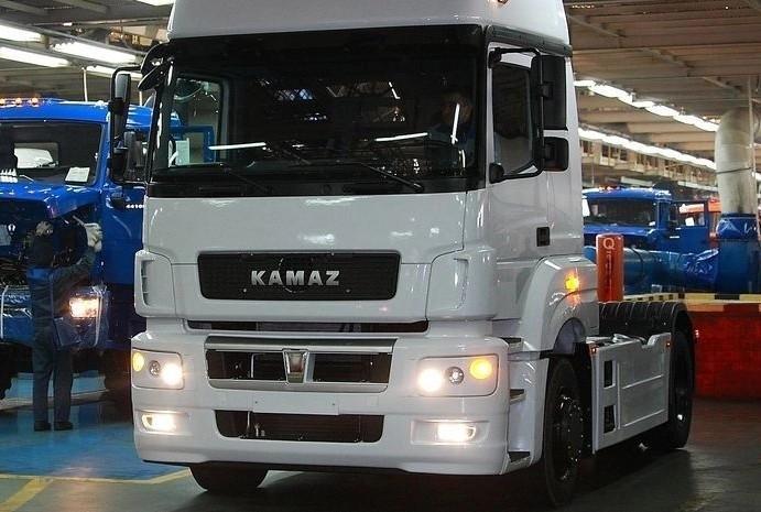 КАМАЗ начал сборку нового автомобиля КАМАЗ-5490 Neo