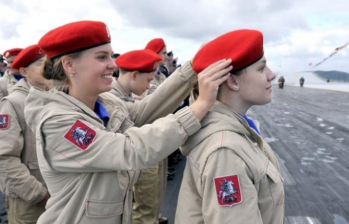 В «Юнармию» вступили более 70 тысяч юношей и девушек во всех регионах России