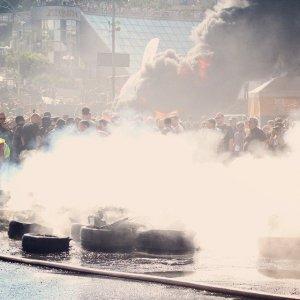 На Майдане в Киеве снова вспыхнули столкновения