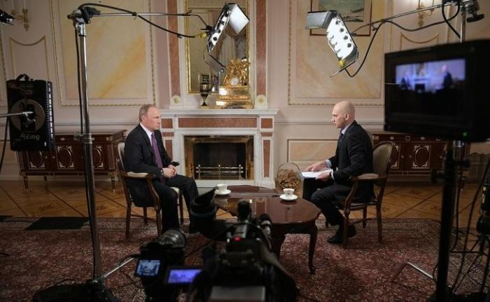 Интервью Владимира Путина телерадиокомпании «Мир»