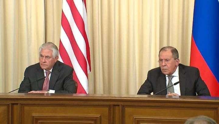 Пресс-конференция Сергея Лаврова и Рекса Тиллерсона по результатам встречи. Полное видео