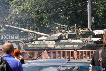 Минобороны Украины отказалось объяснить передвижение танков по Киеву
