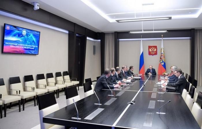 Владимир Путин обсудил с СБ РФ перспективы отношений с США в контексте ситуации в Сирии
