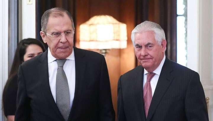 Переговоры Сергея Лаврова и Рекса Тиллерсона: стали известны новые детали