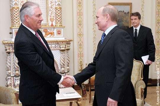 Геополитика: Владимир Путин раскусил блеф, с которым приехал Рэкс Тиллерсон