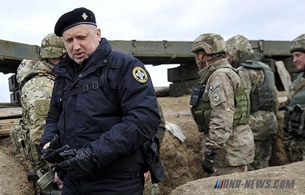 Херой Турчинов: «Украине, завершая АТО, главное – не проскочить границу»