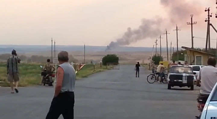Ополченцы захватили экипаж сбитого МиГ-29