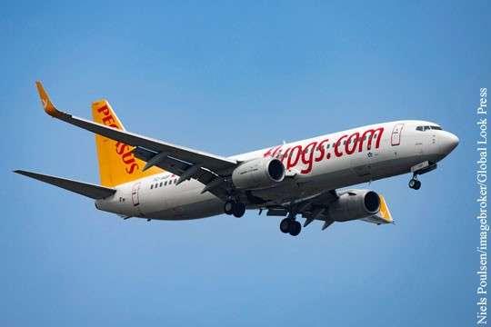Париж: Турецкий самолет подал сигнал SОS