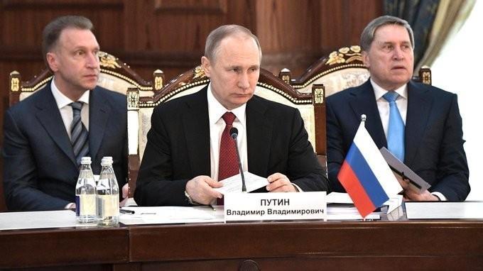 Владимир Путин принял участие в заседании Высшего Евразийского экономического совета