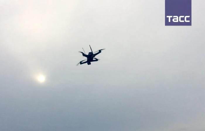 Первое видео испытаний отечественных мини-дронов для антитеррористических и спасательных операций