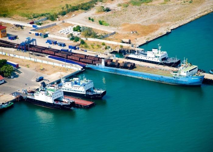 В Крыму запущена вторая железнодорожная паромная линия через Керченский пролив