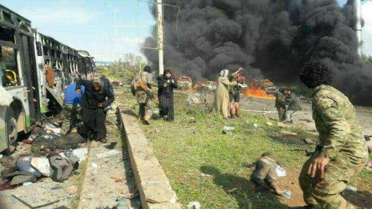 В Алеппо противники Асада совершили чудовищный теракт. Погибло 28 детей. +18