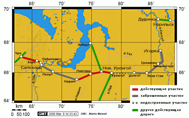 Трансполярная магистраль, задуманная при Сталине, будет достроена при Путине