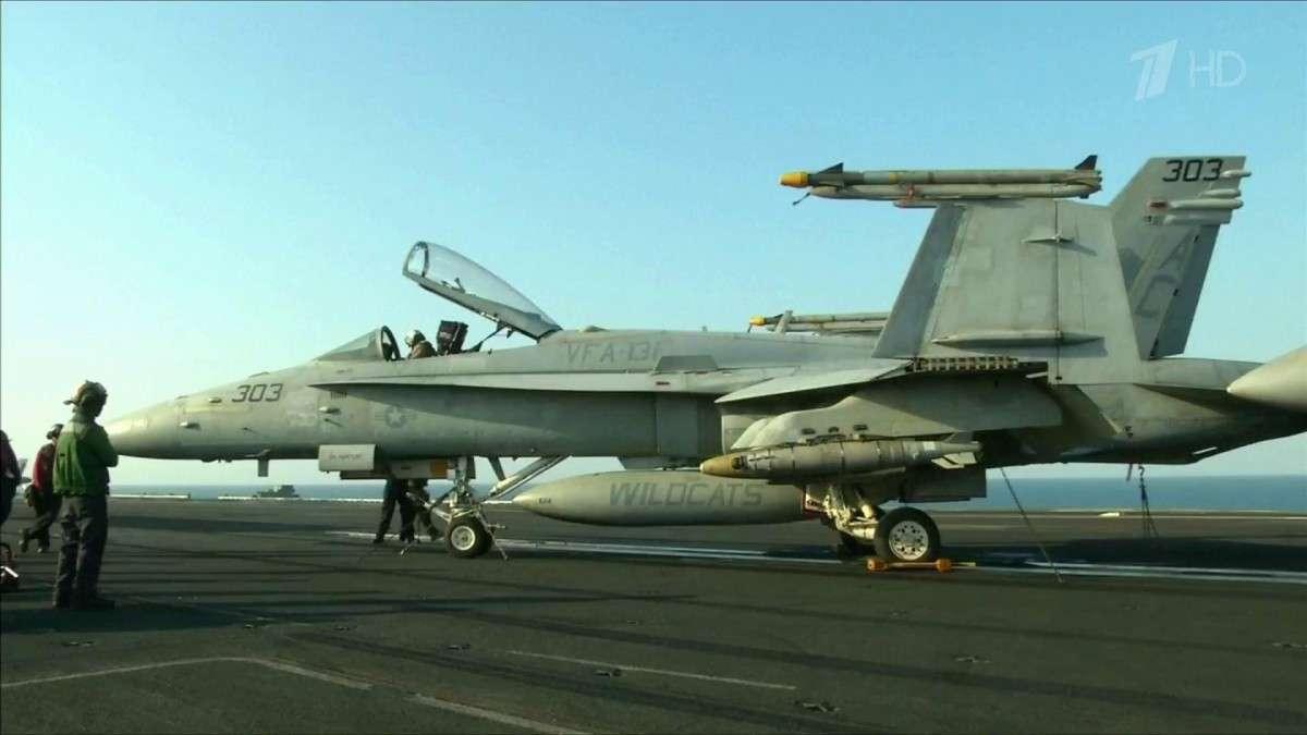 Для полётов над Сирией американцы обращаются к России за разрешением