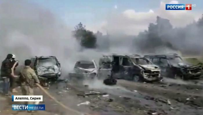 Теракт с автобусами в Алеппо: смертника подорвали дистанционно